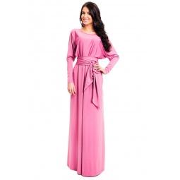 фото Платье Mondigo 7027. Цвет: темно-розовый. Размер одежды: 46
