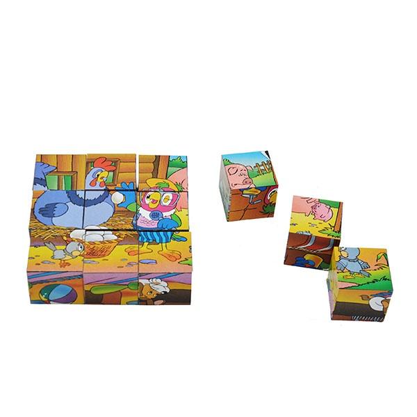 Кубики обучающие Step By Step «Попугай Кеша» 12 кубиков союзмультфильм попугай кеша