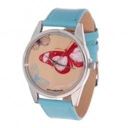 фото Часы наручные Mitya Veselkov «Цветные бабочки» Color