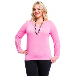 фото Кофта Mondigo XL 8504. Цвет: темно-розовый. Размер одежды: 52