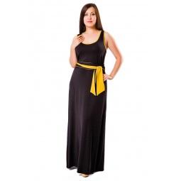 фото Платье Mondigo 27041. Цвет: черный. Размер одежды: 50