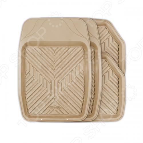 Набор ковриков-ванночек для салона Autoprofi TER-150