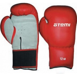 фото Перчатки боксерские ATEMI PBG-432. Размер: 12 OZ. Цвет: красный