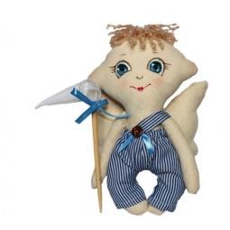 Купить Набор для изготовления текстильной игрушки Кустарь «Сережка»