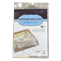 Купить Набор прозрачных конвертов для мелочей 3L 3L-01662-6