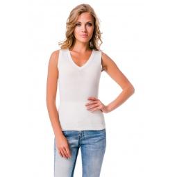 фото Майка Mondigo 9826. Цвет: белый. Размер одежды: 44