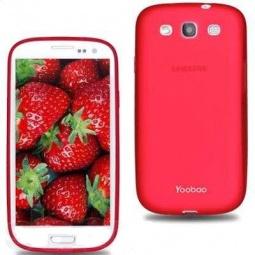 фото Чехол для Samsung Galaxy SIII i9300 Yoobao Glow Protect Case. Цвет: красный