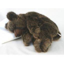 фото Мягкая игрушка Hansa «Бурый медведь спящий»