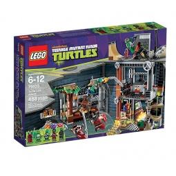 фото Конструктор LEGO Атака на базу черепашек