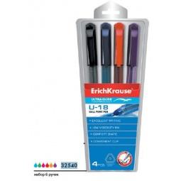 фото Набор ручек шариковых Erich Krause Ultra Glide Technology U-18: 6 цветов