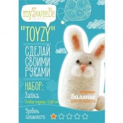 фото Набор для изготовления мягкой игрушки mySweeBe «Зайка» TZ-F010