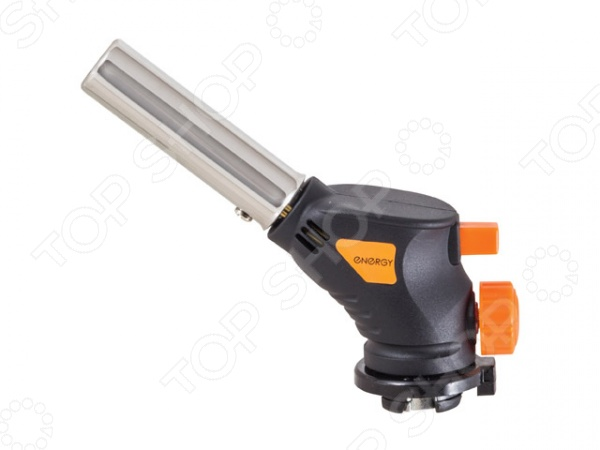 Горелка газовая GT-200Горелки<br>Горелка газовая GT-200 портативная паяльная лампа, работающая на смеси бутана и пропана. Этот инструмент предназначен для многих функций: использования в кулинарии; поджигания углей; лужения и пайки металла; для обжига древесины и краски. У модели работает система пьезоподжига, что, несомненно, делает устройство более удобным в эксплуатации. Компактный и эргономичный дизайн позволяет использовать эту модель газовой горелки для хобби и работы в доме. Паяльная лампа оснащена регулятором интенсивности пламени, а максимальная температура доходит до 1500 С.<br>