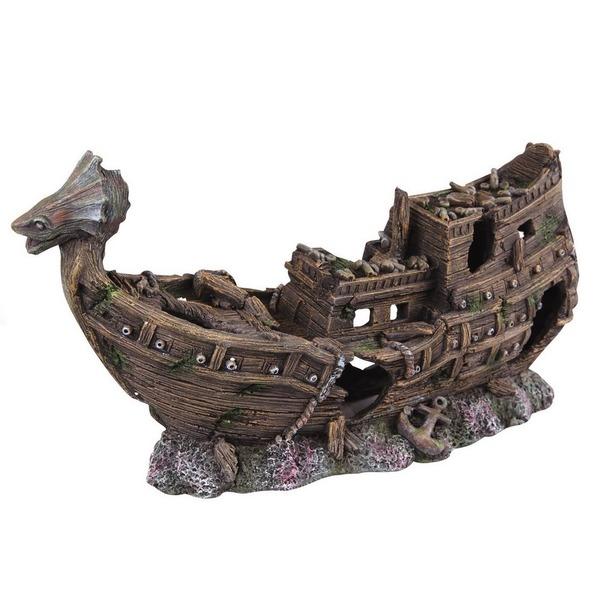фото Корабль для аквариума DEZZIE «Викинг»