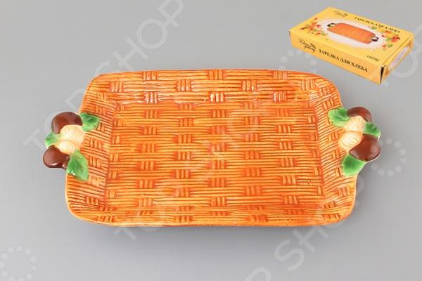 фото Блюдо для хлеба Elan Gallery «Грибы» 110792, Сервировочные блюда