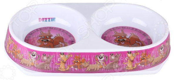 Миска для собак DEZZIE «Хобби»