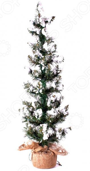 Ель искусственная Crystal Trees «Хрустальная»Елки<br>Ель искусственная Crystal Trees Хрустальная с жесткой хвоей позволит вам создать чарующую атмосферу праздника в любом помещении. Ведь елка это необходимый атрибут Нового Года и Рождества. С помощью искусственной ели вы сможете воссоздать волшебный дух новогодних праздников. А самое главное, что, используя искусственное дерево, вы позаботитесь об окружающей среде, ведь теперь не придется срубать настоящую живую ель. А еще такое новогоднее дерево это просто находка для людей, страдающих аллергией. Ведь гипоаллергенный материал, из которого выполнено дерево, не только экологичен, но и не вызывает аллергических реакций. Преимущества декоративной ели:  экономия денег можно использовать не один год подряд;  безопасность иголки не будут осыпаться, так что никто не поранится особенно это актуально для семей, где есть маленькие дети ;  красота выглядит даже лучше, чем натуральная ель, которая зачастую лишена большого количества веточек и иголочек.<br>