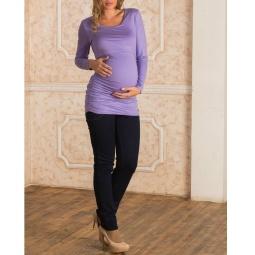 Купить Брюки для беременных Nuova Vita 5607.1. Цвет: темно-синий