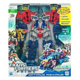 фото Игрушка трансформер Hasbro Сайберверс OptimusMaximus
