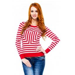 фото Свитер Mondigo 9882. Цвет: красный. Размер одежды: 44