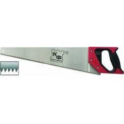 Купить Ножовка по дереву КФ 2-х гранная заточка, средний каленный зуб