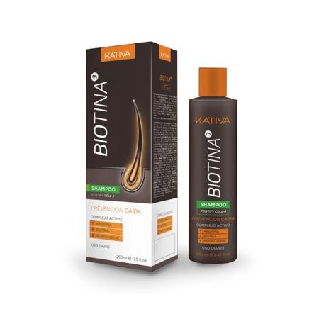 Купить Шампунь против выпадения волос Kativa Biotina