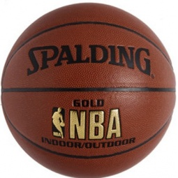фото Мяч баскетбольный Spalding Gold Series