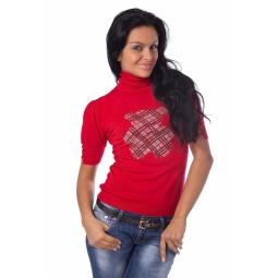 фото Свитер Mondigo 9722. Цвет: красный. Размер одежды: 42