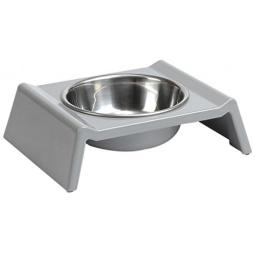 фото Миска для собак Beeztees Bench. Цвет: серый