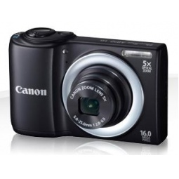 фото Фотокамера цифровая Canon PowerShot A810. Цвет: черный