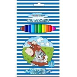 Купить Набор цветных карандашей Союзмультфильм «Простоквашино»