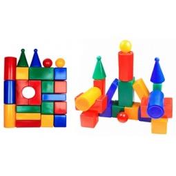 фото Набор кубиков Строим вместе «Строительная стена 22»