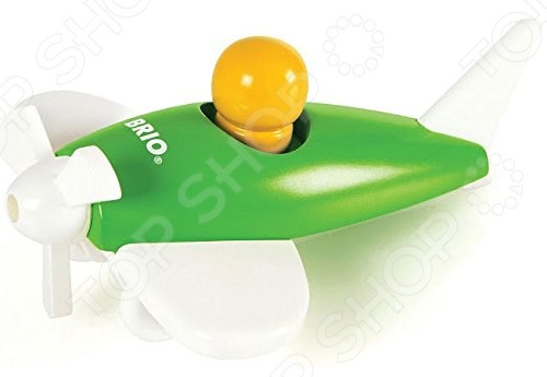 Игрушка деревянная Brio «Самолетик». В ассортименте