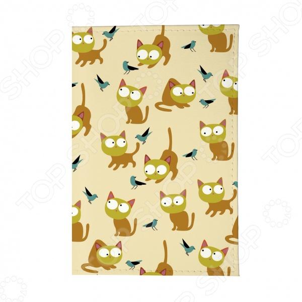 Обложка для паспорта Mitya Veselkov «Рыжие кошки»