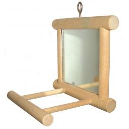 Купить Игрушка для птиц DEZZIE «Зеркало с жердочкой»