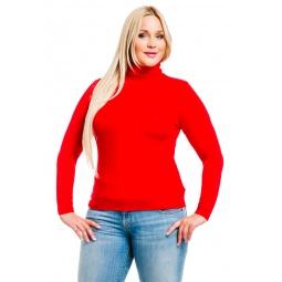 фото Водолазка Mondigo XL 046. Цвет: красный. Размер одежды: 48