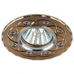 Купить Светильник встраиваемый Эра KL40 SL/GD