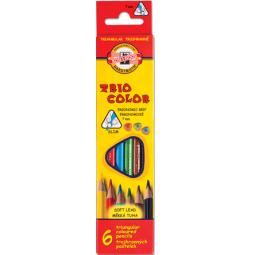 фото Набор карандашей цветных Koh-I-Noor Tricolor