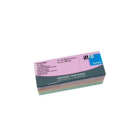 Купить Блок-кубик для записей Info Notes 5653-80