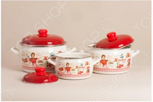 Набор посуды Metrot «Винтаж»