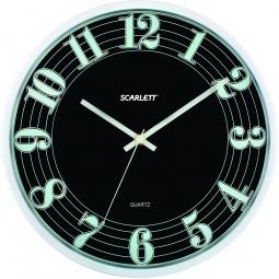 фото Часы настенные Scarlett SC-55A