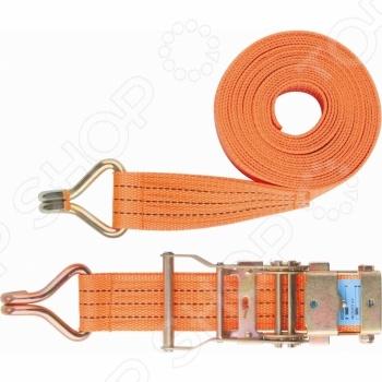 Ремень багажный с крюками и храповым механизмом StelsКрепление груза<br>Ремень багажный с крюками и храповым механизмом Stels специальное приспособление, которые позволяет надежно зафиксировать багаж и не допустить его передвижение во время перевозки. Ремень также идеально подходит для связывания и стягивания, что будет очень удобно, если вы отправляетесь в поход, на рыбалку, на охоту или в путешествие. Изделие оснащено храповым механизмом, который значительно облегчает натяжение ремня. Ремень выполнен из прочных и высококачественных нейлоновых материалов, которые обеспечивают прекрасные эксплуатационные характеристики.<br>