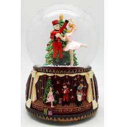фото Снежный шар музыкальный Crystal Deco «Щелкунчик. Танец Балерины» 1707571