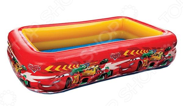 Бассейн надувной детский Intex «Тачки»