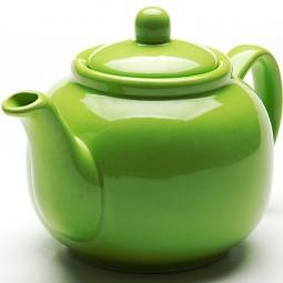 фото Чайник заварочный Loraine Bio&Eco Ceramic. Цвет: зеленый