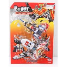 фото Игрушка-трансформер PlaySmart «Робот. Ураган-гром»