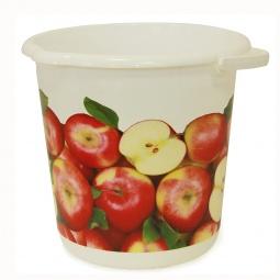 фото Ведро IDEA «Деко. Яблоки». Объем: 5 л