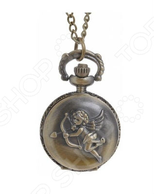 Кулон-часы Mitya Veselkov «Медальон с ангелом»Кулоны<br>Кулон-часы Mitya Veselkov Медальон с ангелом это стильный аксессуар, который выполняет не только функцию украшения, но и классических часов. Корпус изделия выполнен из прочного, но изящного сплава тонкой работы. Внутри корпуса вы увидите кварцевые часы с тремя стрелками, которые прослужат вам долгие годы. Кулон крепится на изящную цепочку панцирного плетения, с карабином, при необходимости вы можете заменить её и использовать кожаный шнурок. В такой вариации вы идеально дополните образ стим-панк, который снова становится популярен. Любая современная девушка будет в восторге от такого украшения, ведь эти часы сочетаются с любыми аксессуарами и хорошо смотрятся как с свитерами крупной вязки, так и с воздушными блузами. Этот кулон может стать идеальным подарком на праздник.<br>