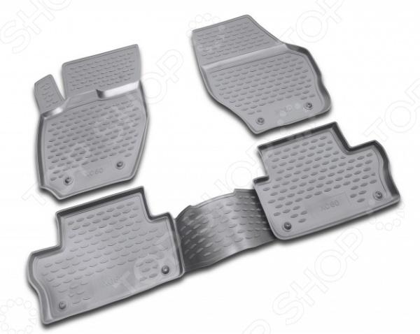 Комплект ковриков в салон автомобиля Novline-Autofamily Volvo XC60 2007Коврики в салон<br>Комплект ковриков в салон автомобиля Novline Autofamily Volvo XC60 2007 износостойкий, долговечный и практичный в использовании. Прочные полиуретановые коврики прекрасно защищают пол салона автомобиля от сильных загрязнений, пыли, влаги в любое время года. Такое качество обеспечивается не только за счет использования высококачественных материалов, но и за счет индивидуального изготовления изделий для каждой модели. Размеры ковриков учитывают все особенности автомобиля Volvo XC60 2007 и полностью повторяют контуры пола, поэтому их не придется самостоятельно подрезать или подгибать. Другие преимущества полиуретановых ковриков для автомобиля:  антискользящий рельеф для более безопасного управления автомобилем;  фиксаторы для большей устойчивости;  предусмотрена защита от западания педали газа;  устойчивы к истиранию и воздействию УФ-лучей;  не пачкают обувь;  полная защита салона;  гигиенические сертификаты. Материал, из которого выполнены коврики, не деформируется и не меняет своих характеристик ни при низких, ни при высоких температурах. Он также не поддается коррозии и не реагирует на воздействие бензина и других агрессивных реагентов. Помимо своих высоких эксплуатационных характеристик, коврики отличаются небольшим весом, поэтому вы сможете их легко доставать из автомобиля, чтобы почистить от снега, влаги и налипшей грязи. Уход за такими изделиями не требует особых усилий или каких-то особых средств. Достаточно их промыть обычными чистящими средствами для автомобиля и оставить высохнуть.<br>