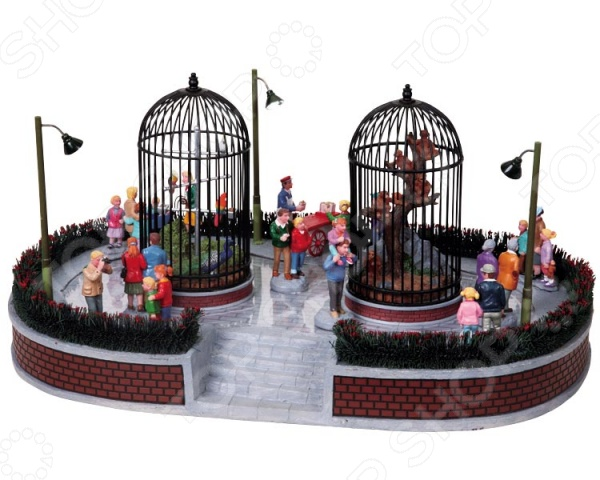 Фигурки керамические Lemax «Аттракцион: Зоопарк» lemax аттракцион зоопарк