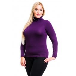 фото Водолазка Mondigo XL 046. Цвет: баклажановый. Размер одежды: 52